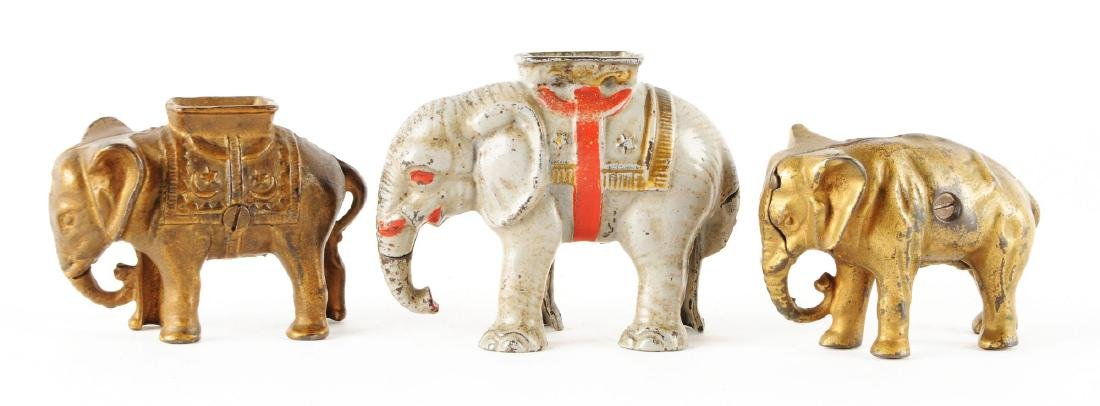 Lot of 3: Still Bank Elephants. - 2