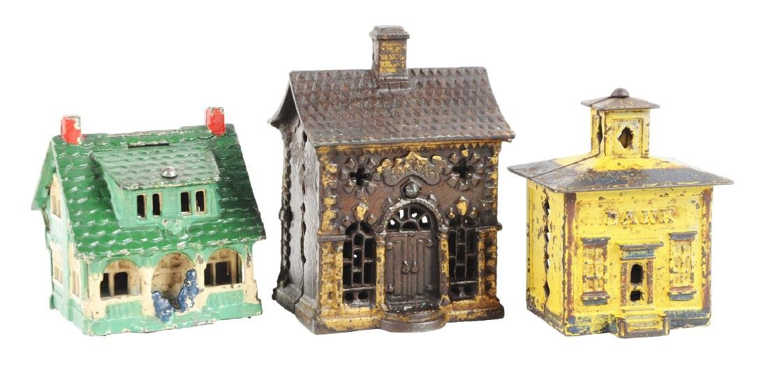 Lot of 3: Still Bank Buildings.