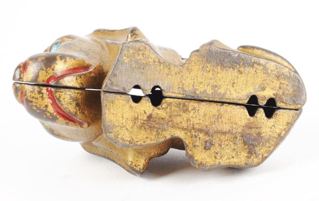 Bassett Hound Cast Iron Still Bank. - 4