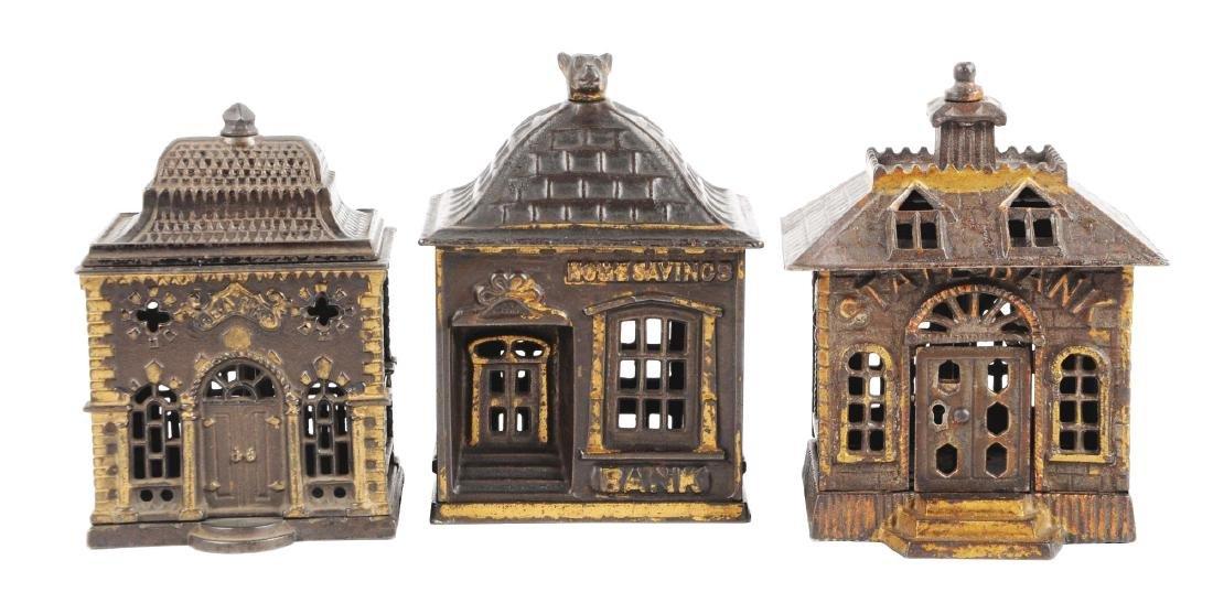 Lot of 3: Still Bank Buildings.