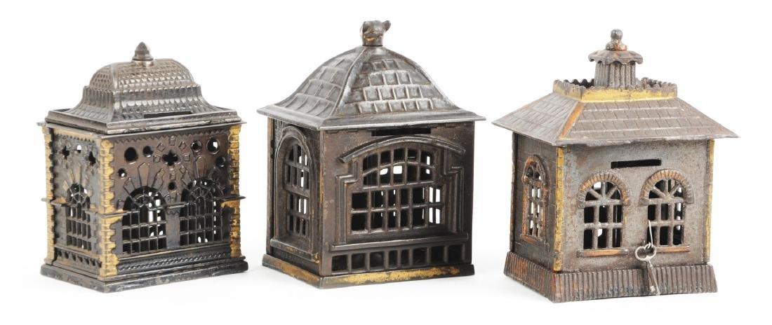 Lot of 3: Still Bank Buildings. - 2