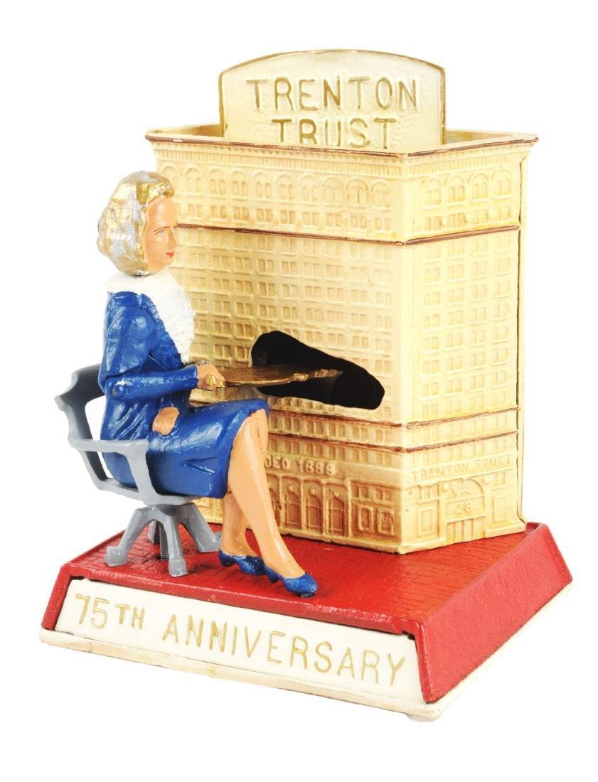 Cast Iron Trenton Trust 75th Anniversary Mechanical