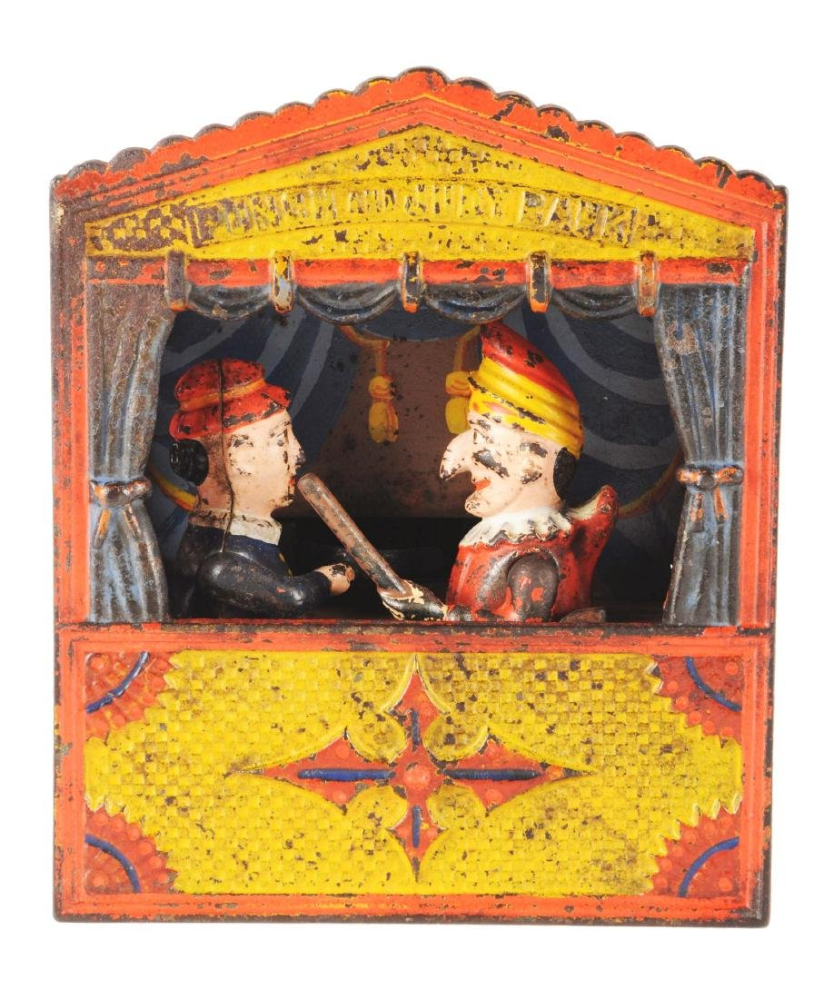 Shepard Hardware Punch & Judy Cast Iron Mechanical