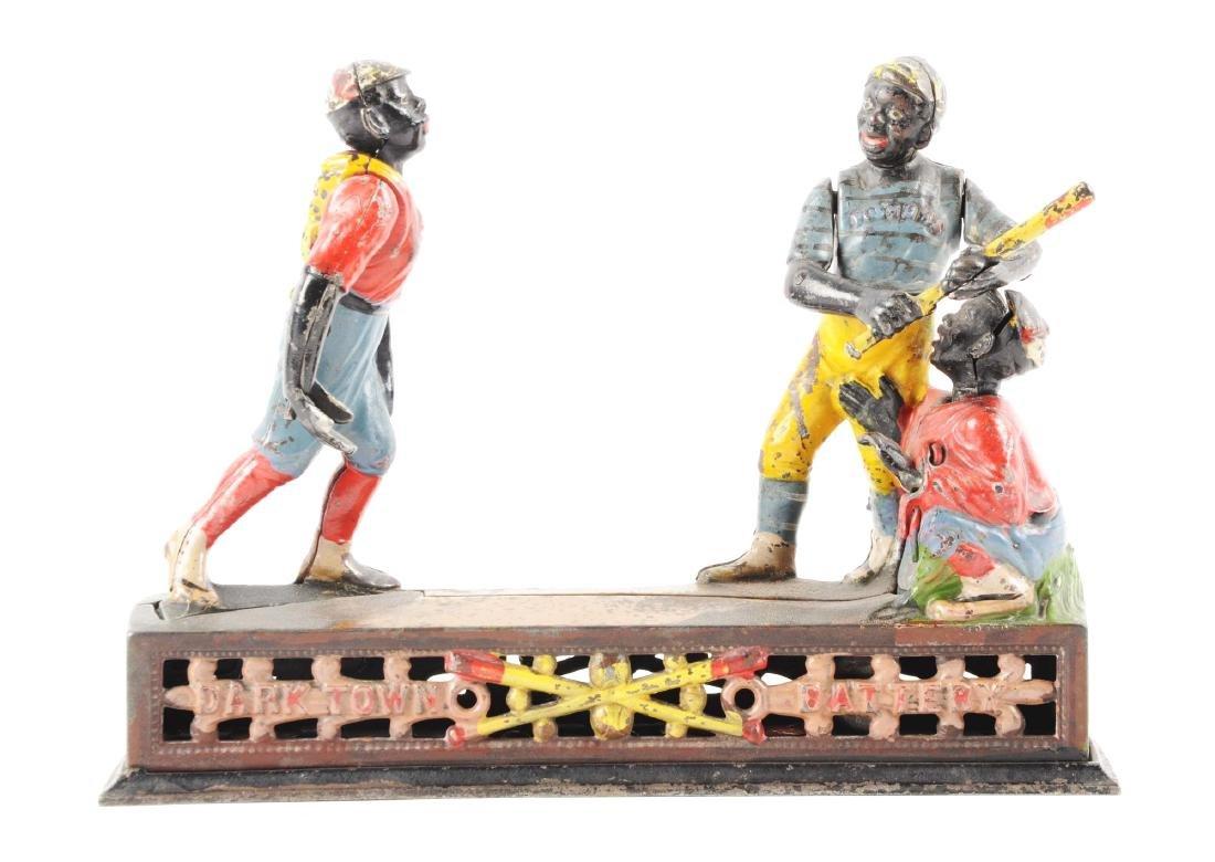 J. & E. Stevens Darktown Battery Cast Iron Mechanical
