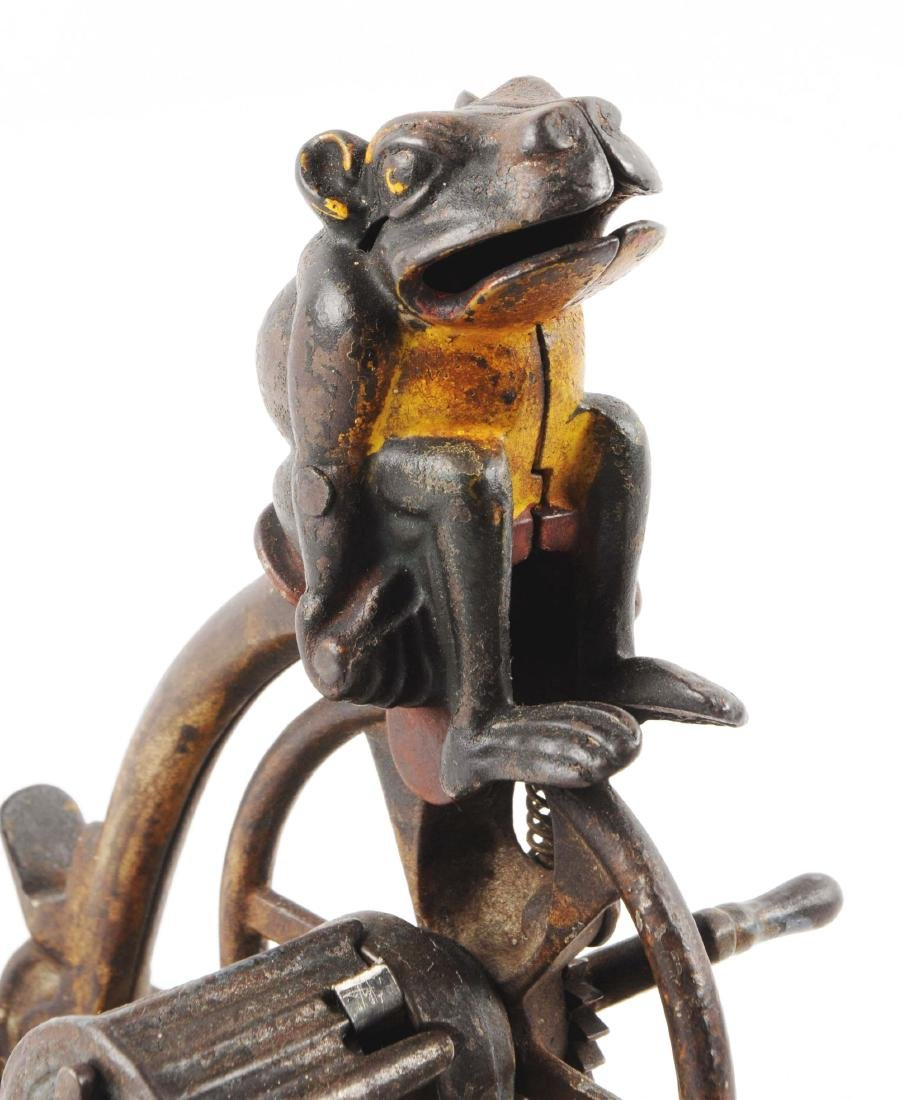 J. & E. Stevens Professor Pug Frog's Great Bicycle Feat - 5