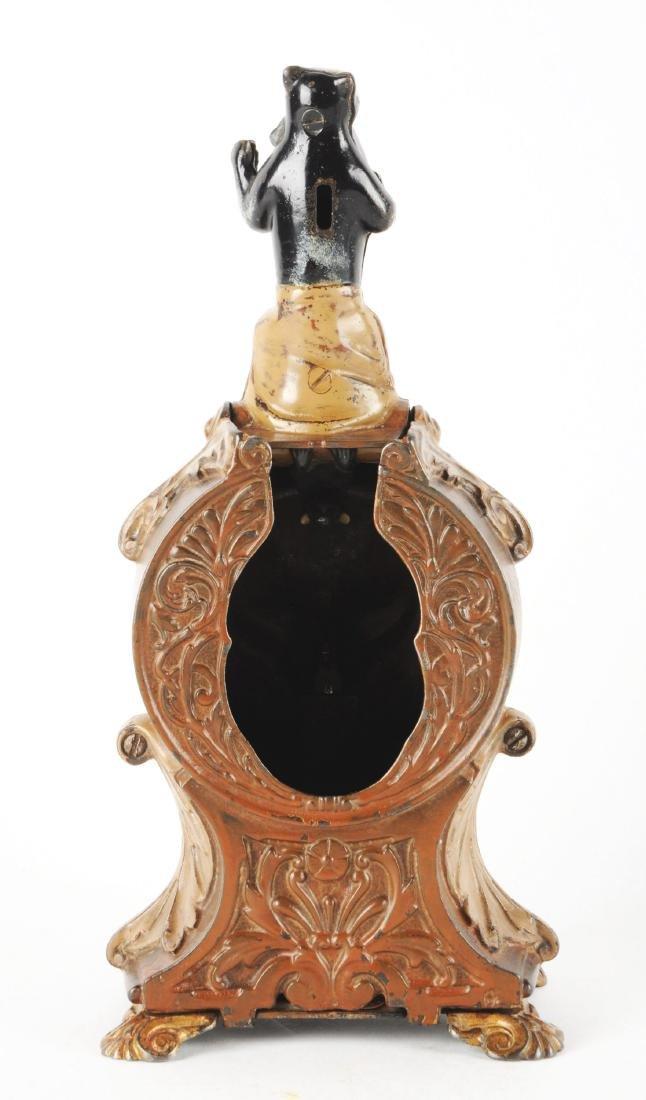 J. & E. Stevens Cat & Mouse Cast Iron Mechanical Bank. - 2