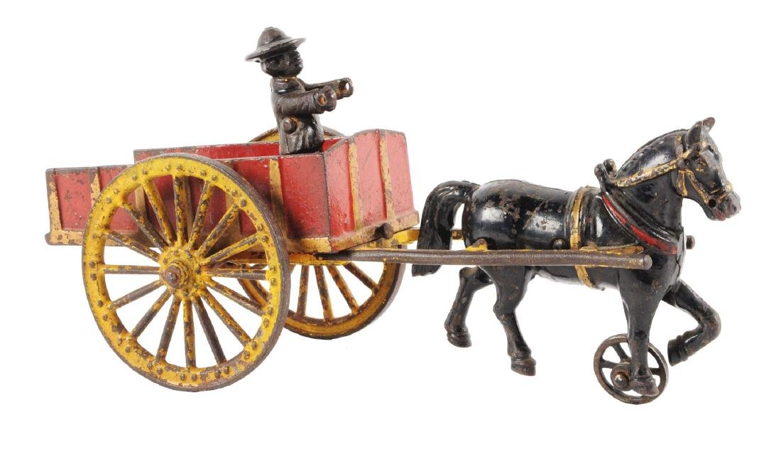 Harris Horse Drawn Dump Cart.