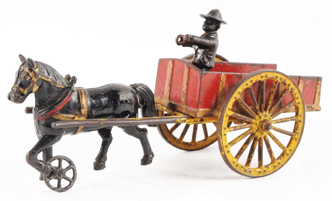 Harris Horse Drawn Dump Cart. - 2