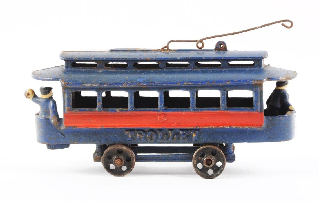 Cast Iron Trolley Car. - 2