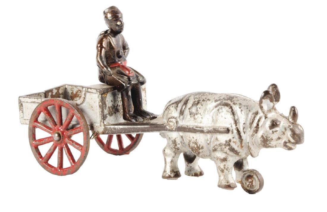 Kenton Cast Iron Rhino Wagon.