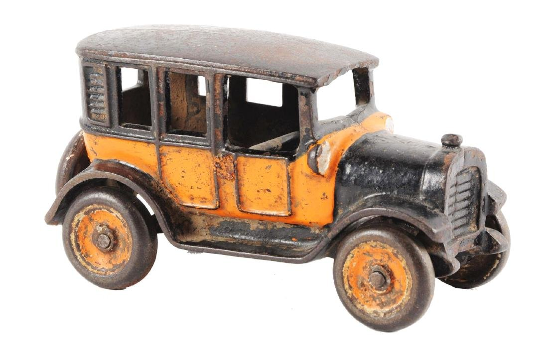 Small Arcade Cast Iron Taxi.