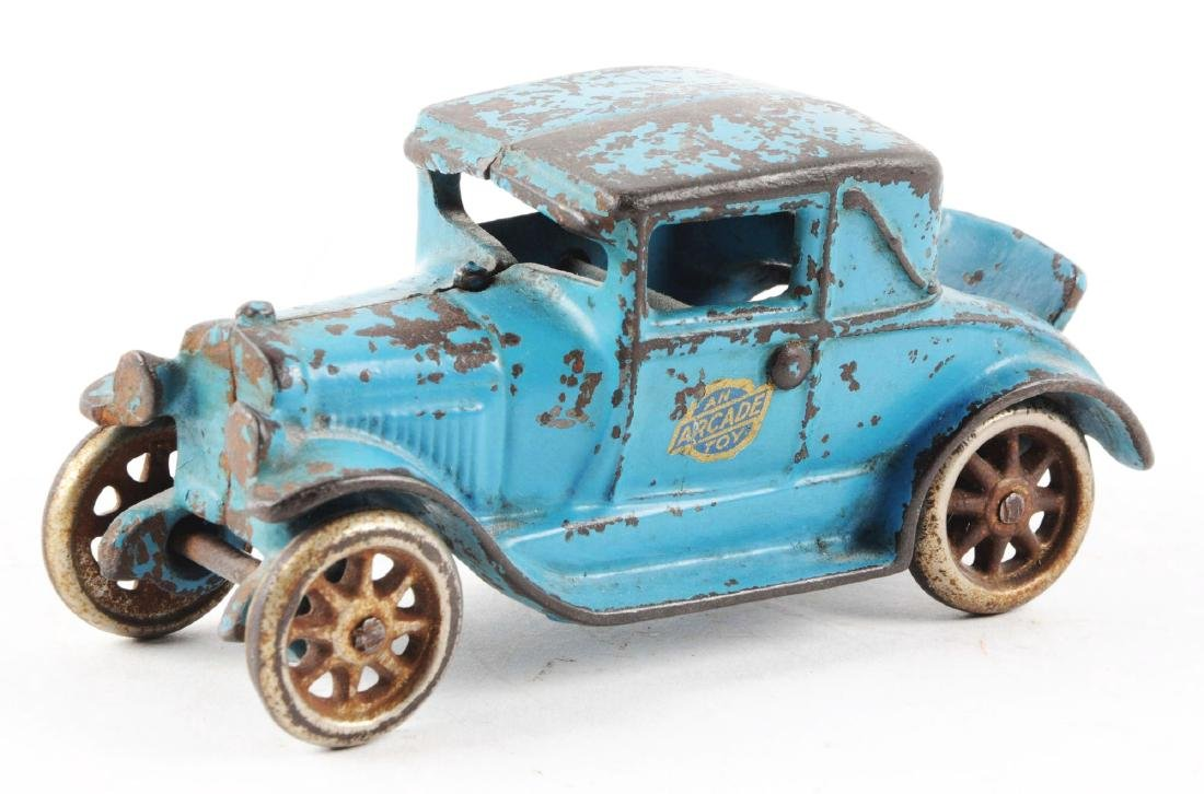 Arcade Cast Iron Model A Car w/ Rumble Seat. - 2