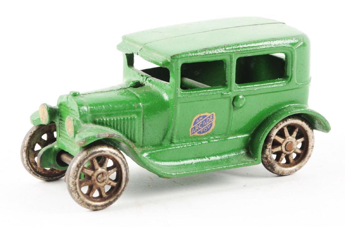 Arcade Cast Iron Model A Sedan. - 2