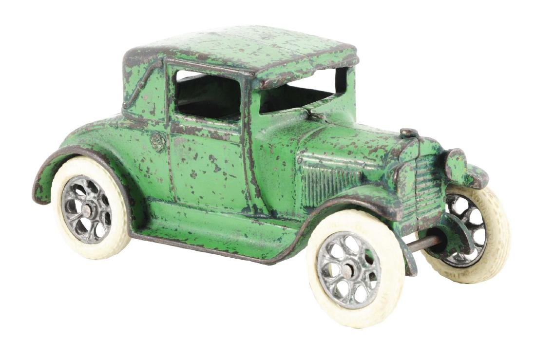 Arcade Cast Iron Model A Coupe w/ Rumble Seat.