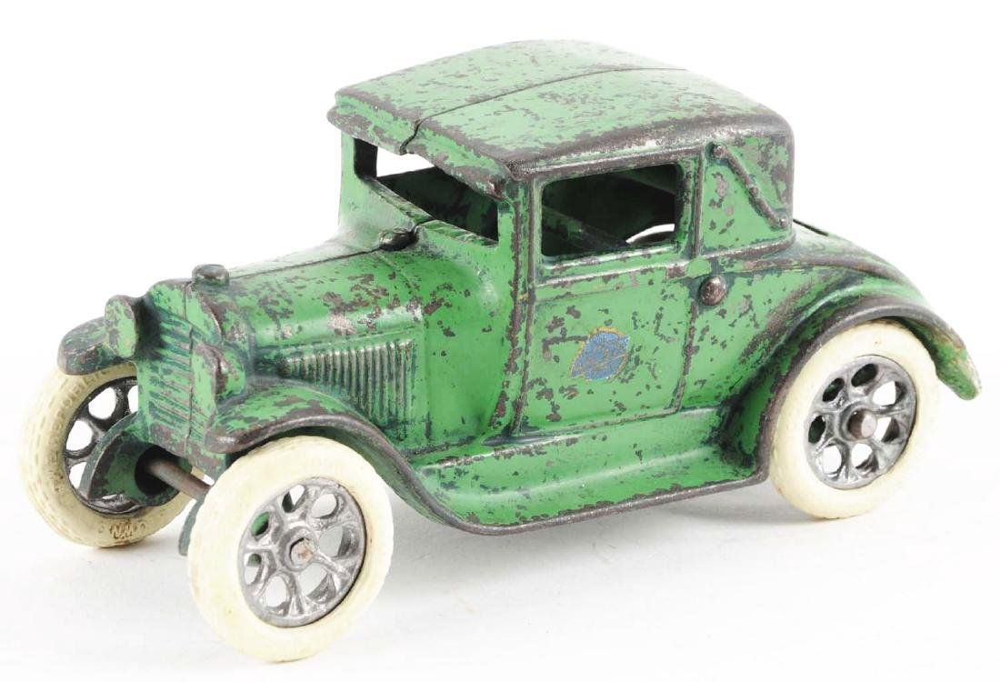 Arcade Cast Iron Model A Coupe w/ Rumble Seat. - 2