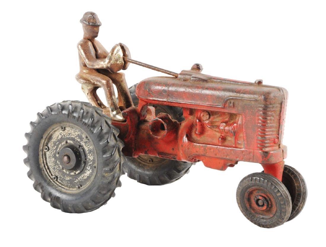 Arcade Cast Iron Farmall Tractor.