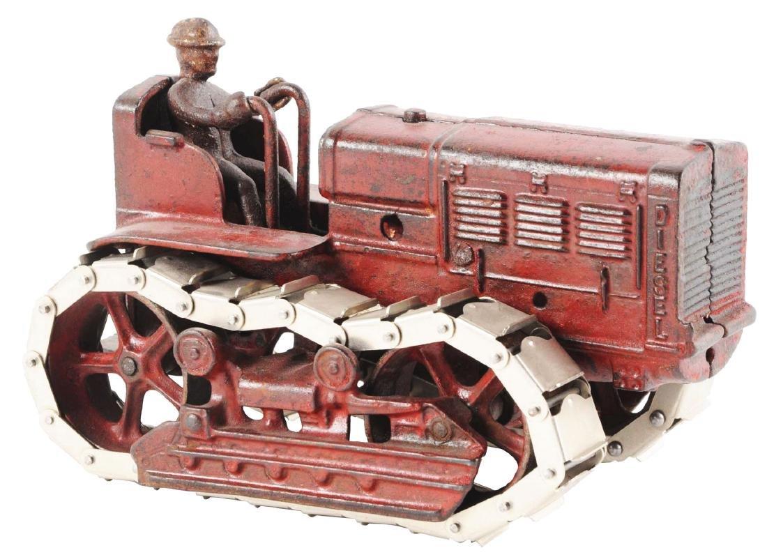 Cast Iron International Harvester Tractor.