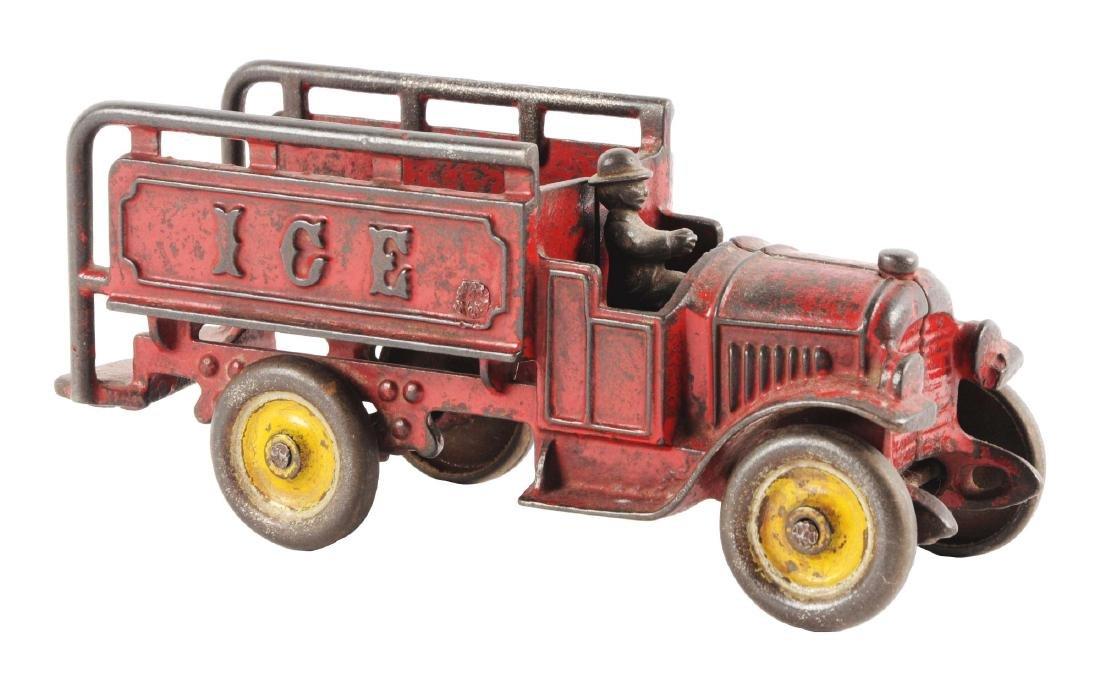 Kenton Cast Iron Ice Truck.