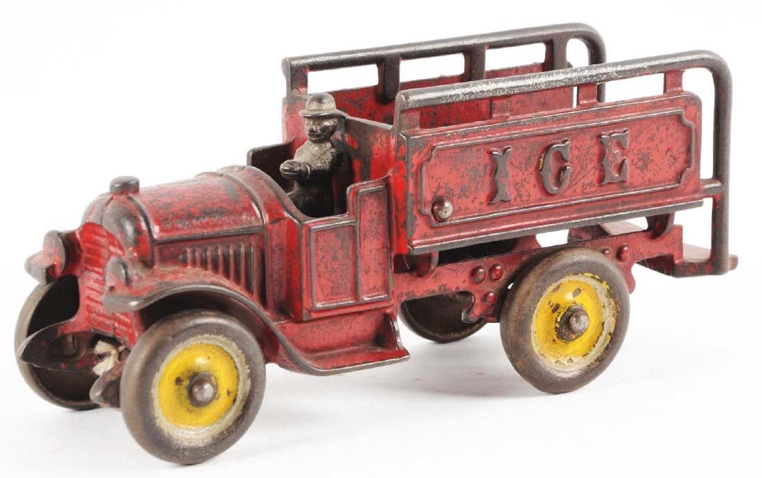 Kenton Cast Iron Ice Truck. - 2
