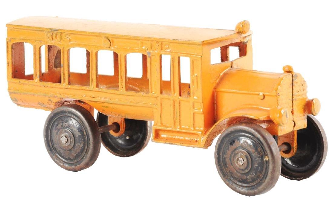 Orange Cast Iron Bus Line.