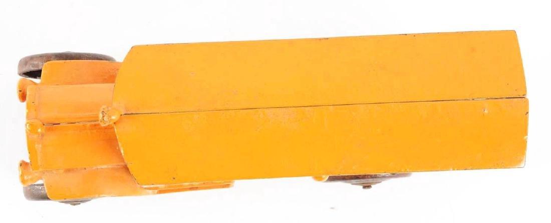 Orange Cast Iron Bus Line. - 3