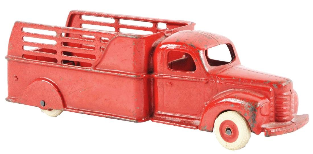 Arcade International Cast Iron Stake Truck.