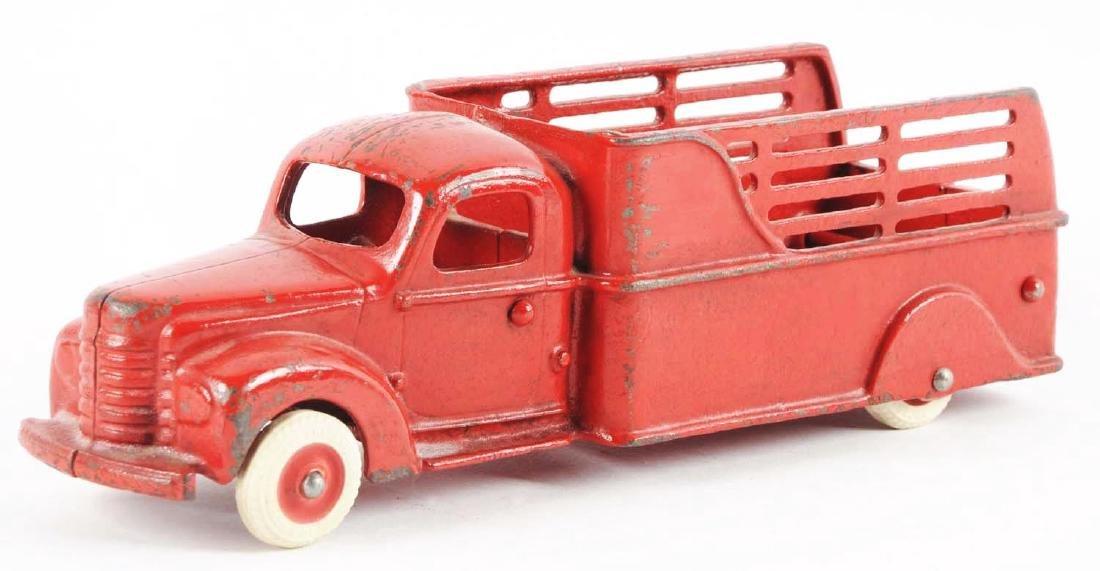Arcade International Cast Iron Stake Truck. - 2