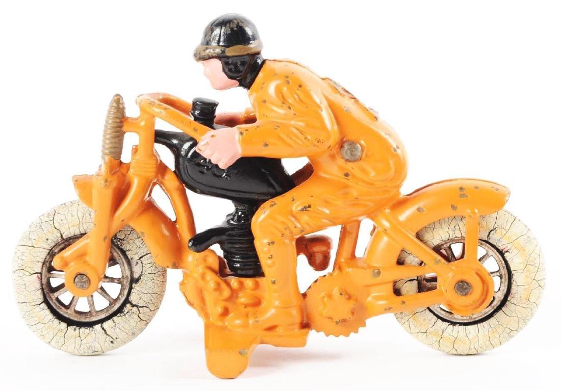 Hubley Cast Iron Hillclimber Motorcycle. - 2