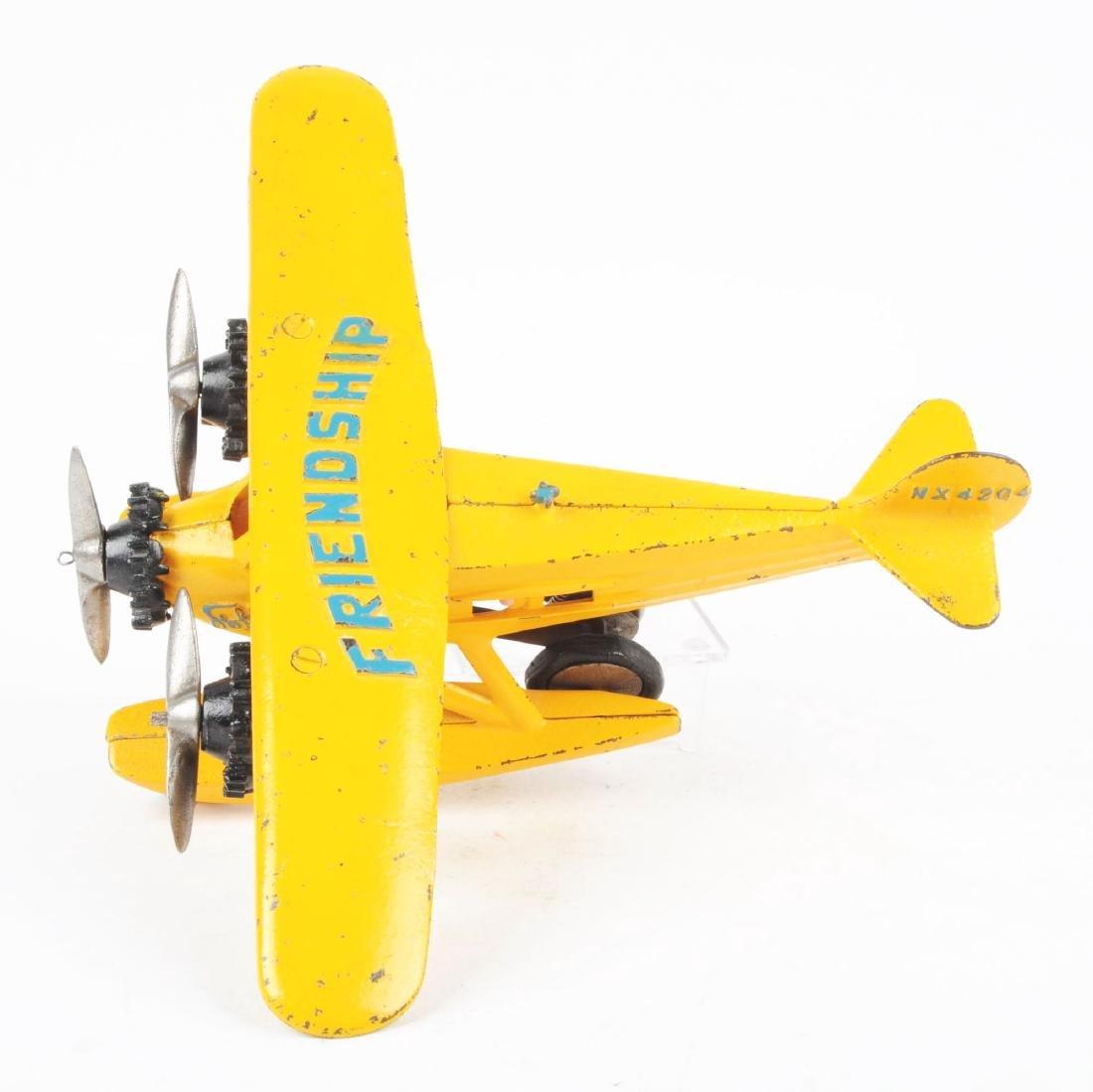 Hubley Friendship Cast Iron Tri Motor Sea Plane. - 2