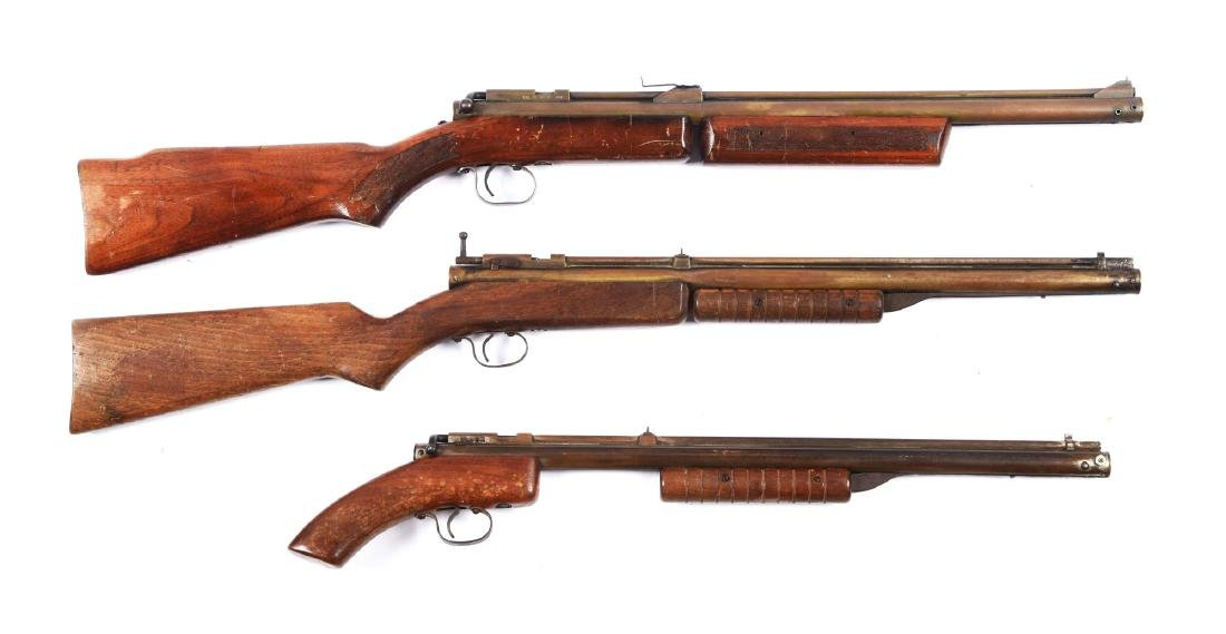 Lot Of 3: Benjamin Rifles.