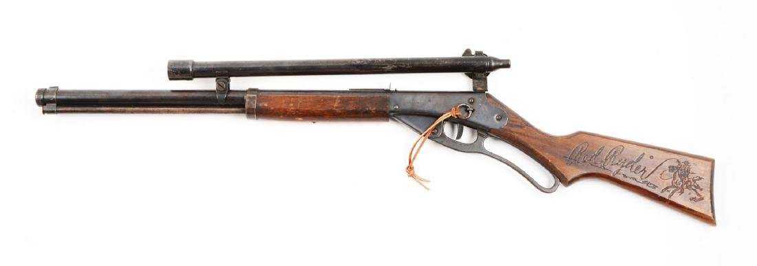 Daisy Red Rider Model 40 With No. 300 Target Telescopic - 2
