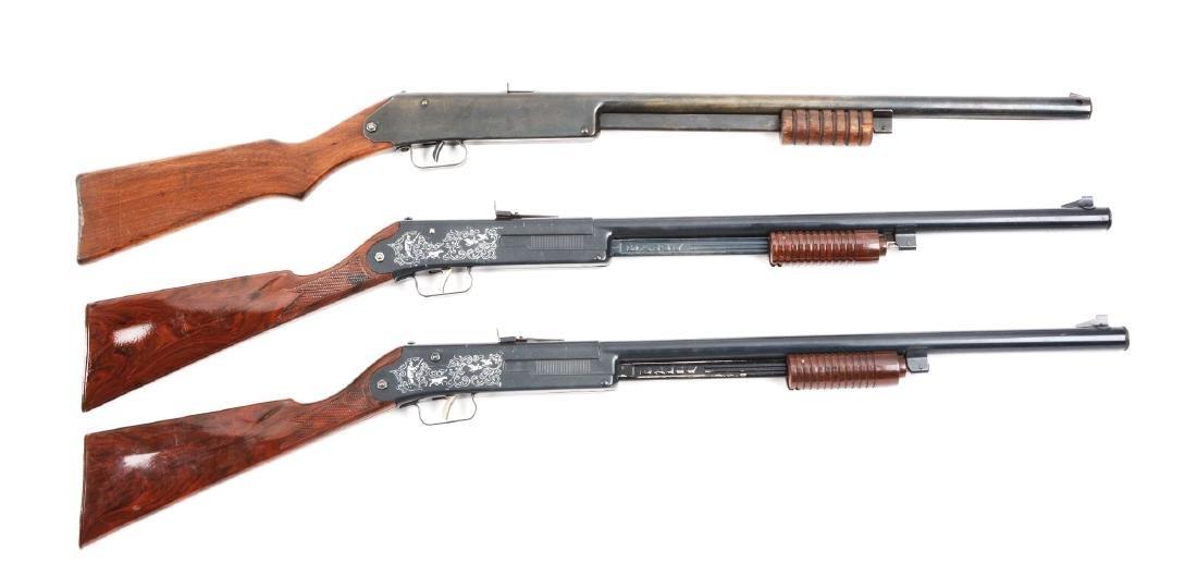Lot of 3 Daisy Pump Air Rifles.
