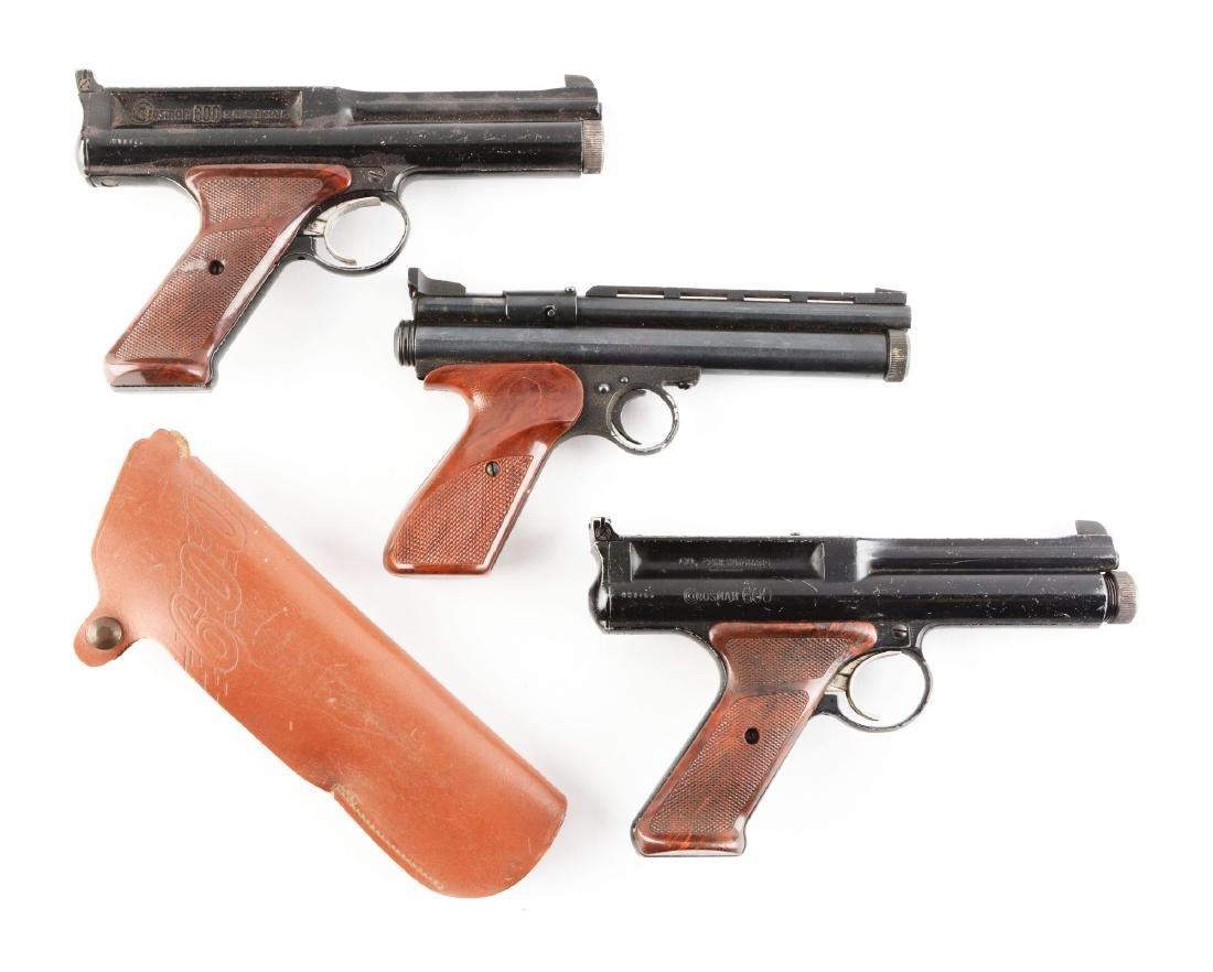 Lot Of 3: Crossman Air Pistols.