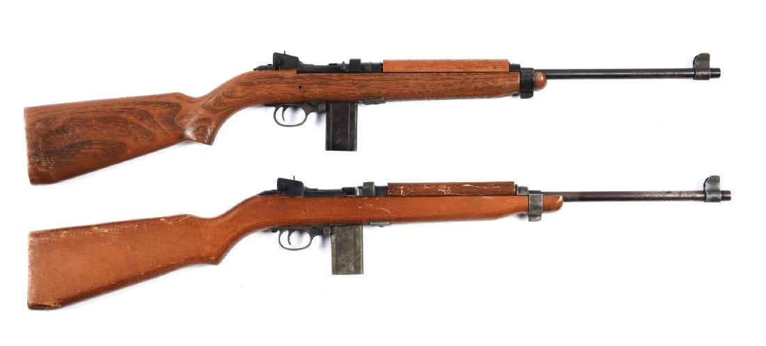 Lot Of 2: Crossman M1 Carbines (Wood & Plastic).