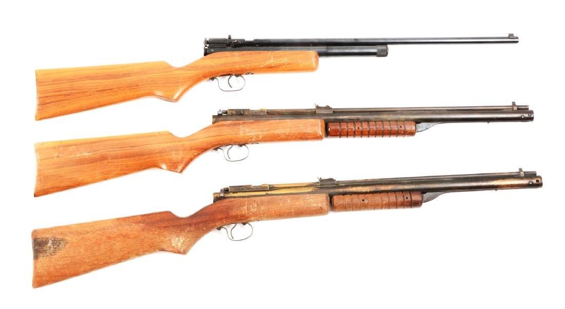 Lot Of 3: Benjamin Rifles.