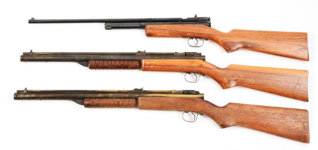 Lot Of 3: Benjamin Rifles. - 2