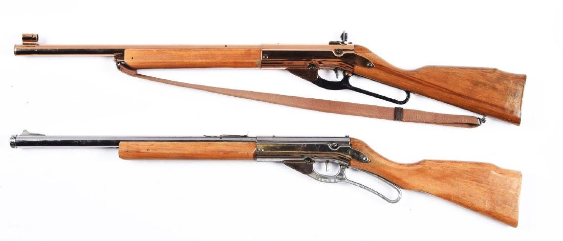 Lot of 2 Daisy Lever Action Air Rifles. - 2