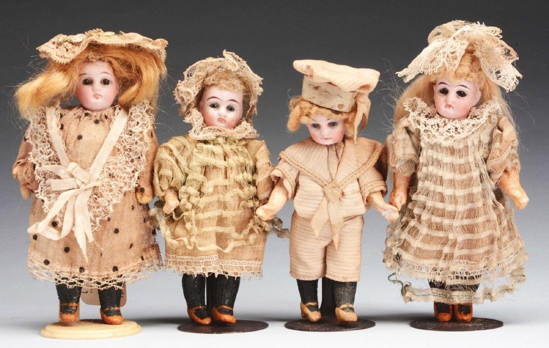 Lot of 4: Factory Original Petite German Children.
