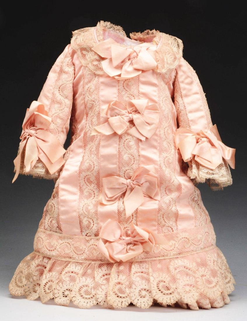 Pink Doll Dress for French Bébé.