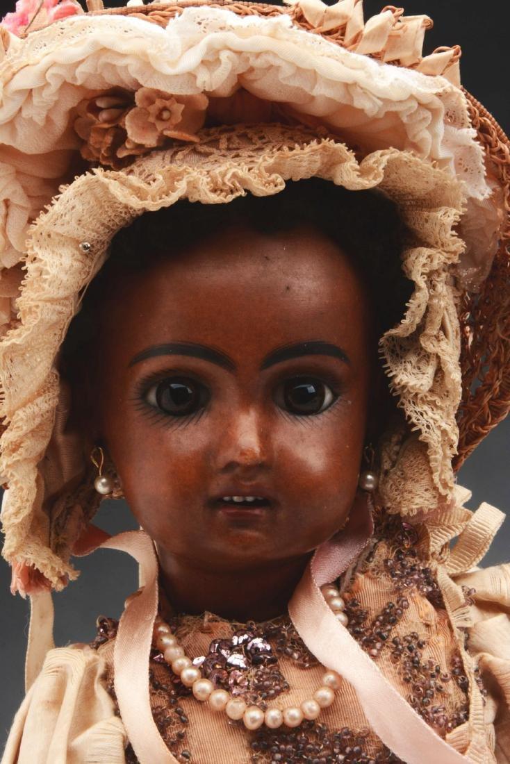 """13"""" 1907 Brown Bisque Jumeau Child. - 2"""