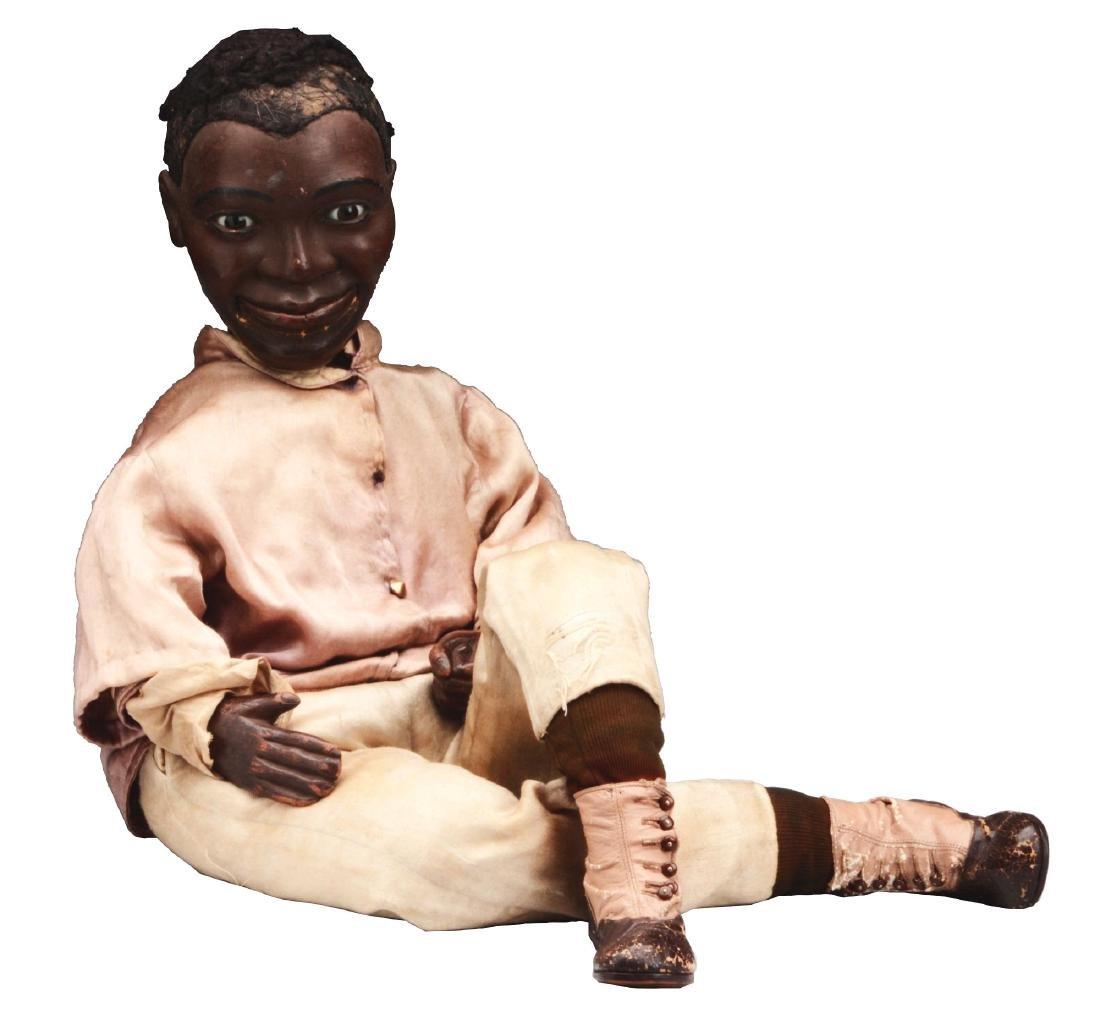 Exceptional Black Ventriloquist Dummy.