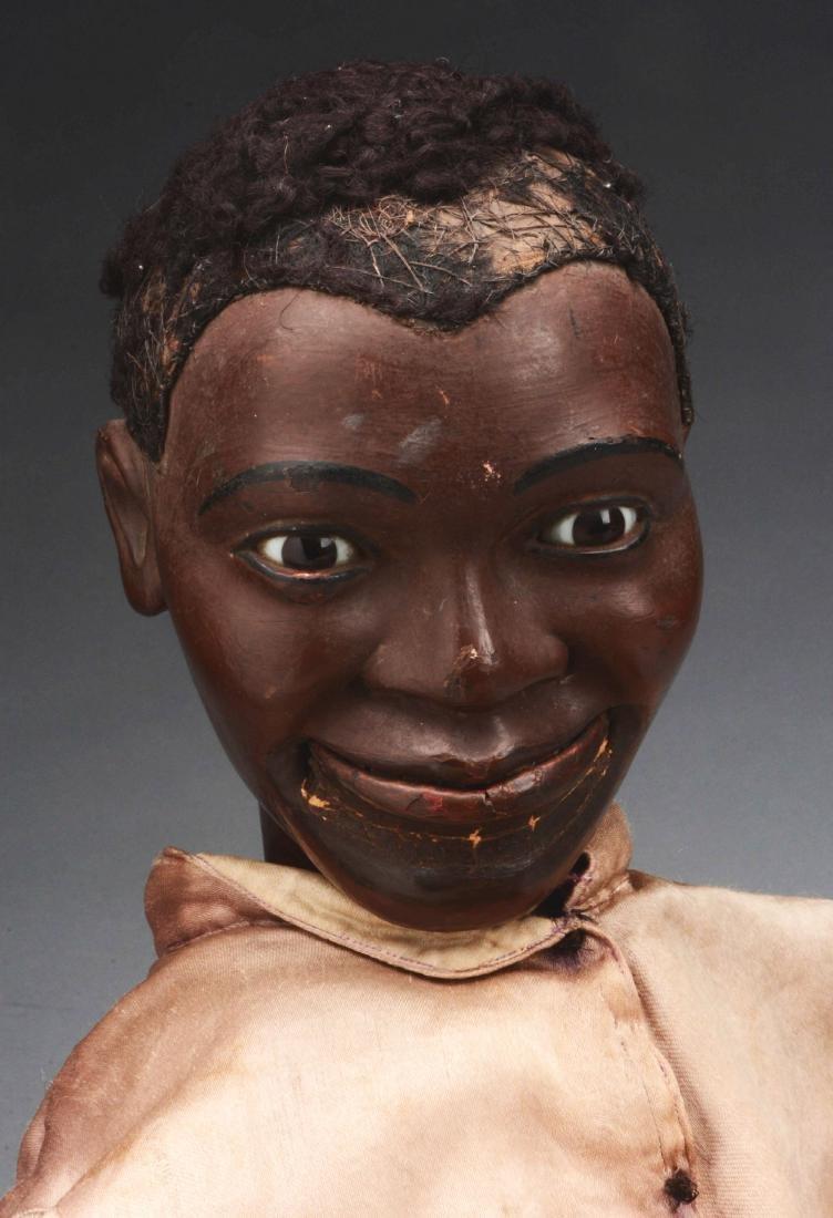 Exceptional Black Ventriloquist Dummy. - 2
