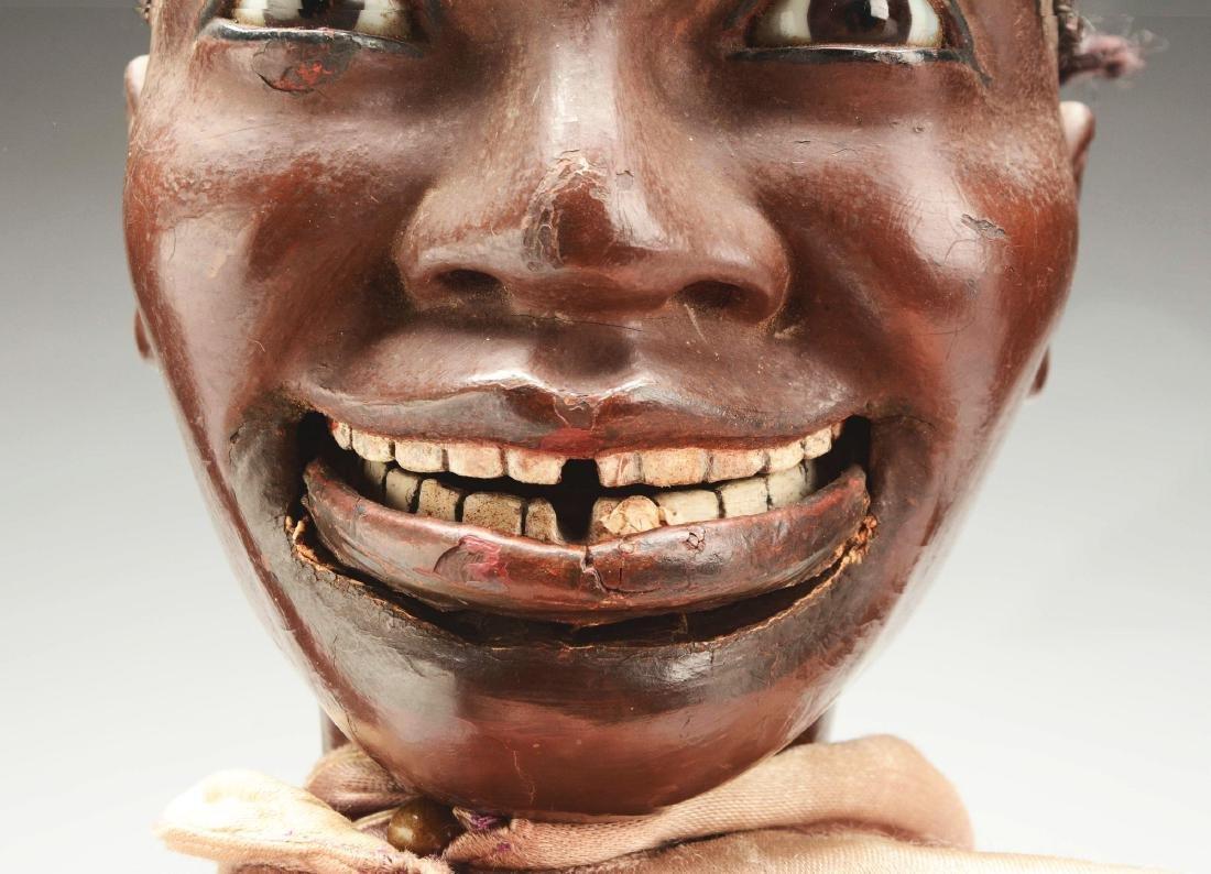 Exceptional Black Ventriloquist Dummy. - 6