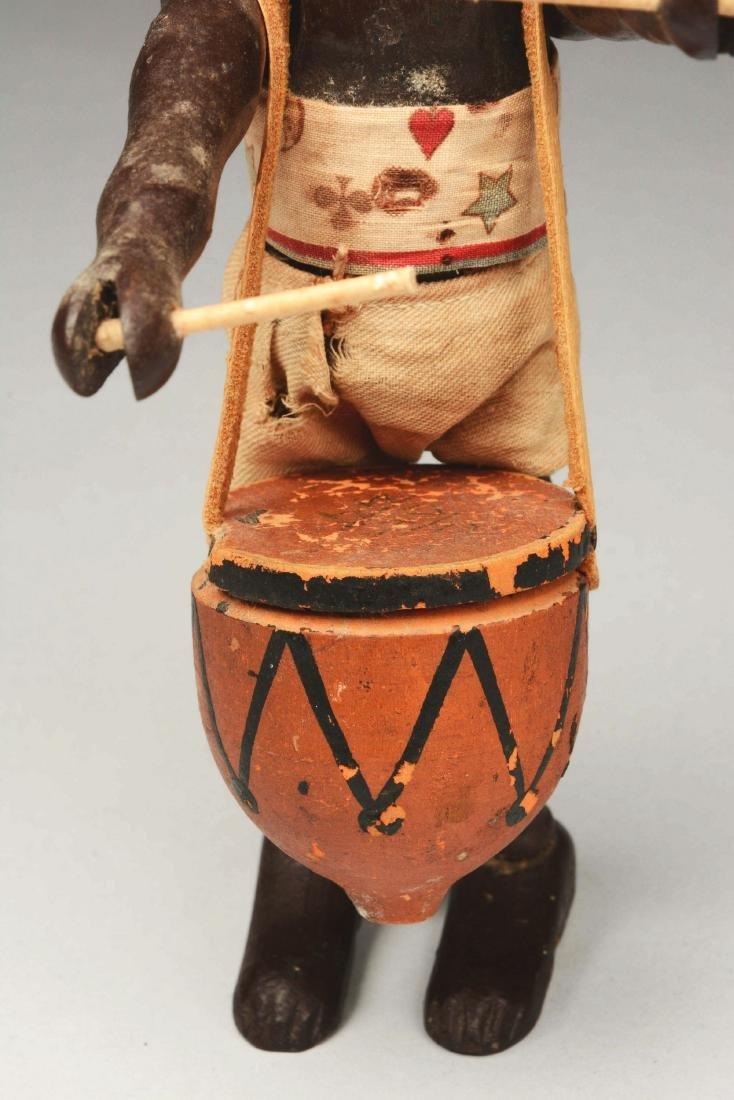 Schoenhut African Safari Native Drummer. - 3