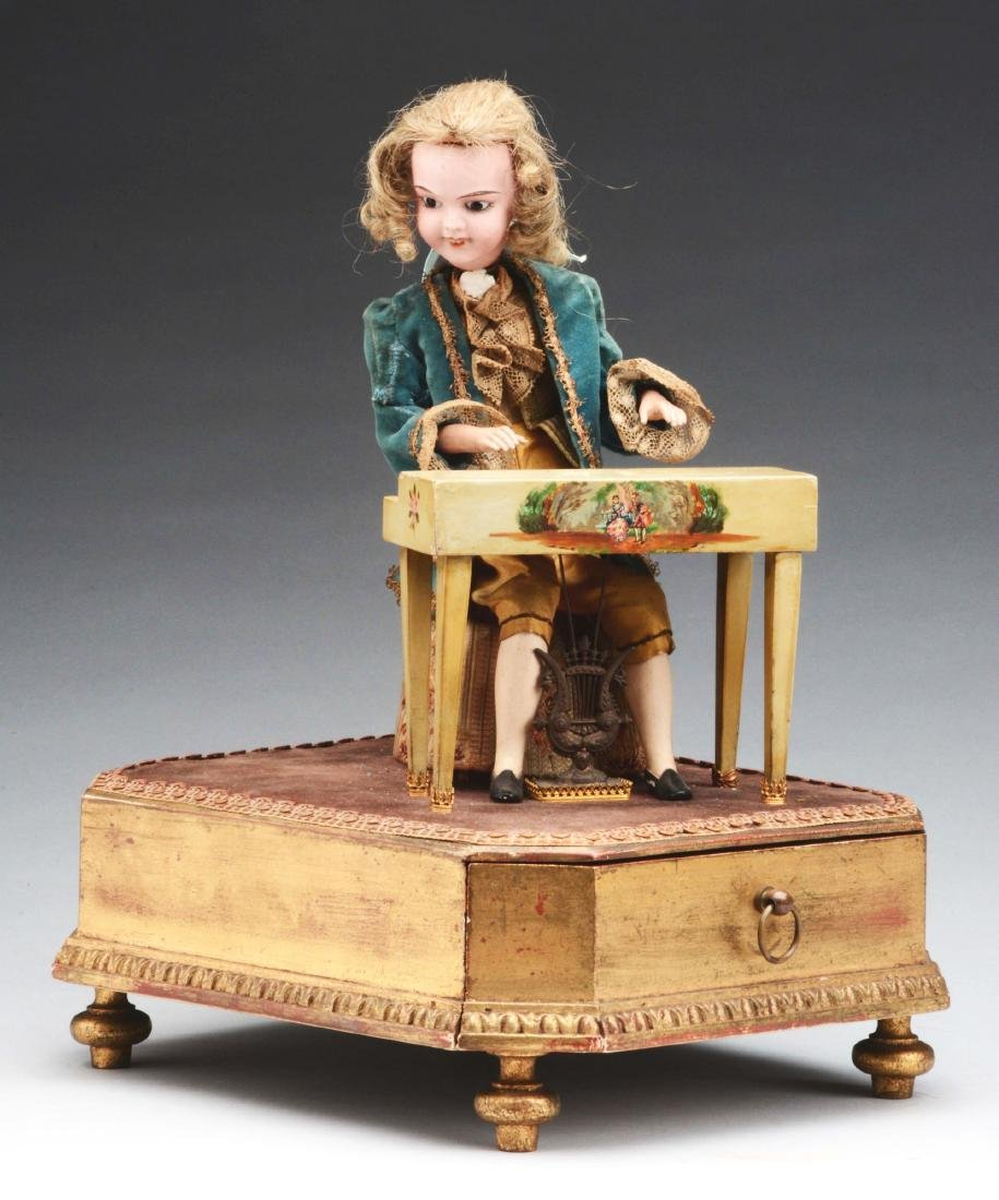 Automaton of Man Playing the Piano.