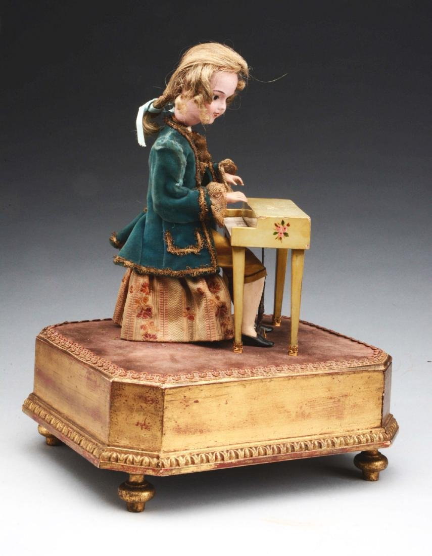 Automaton of Man Playing the Piano. - 4
