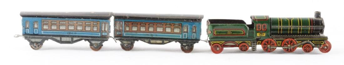 German CKO Tin Litho Penny Toy Train.