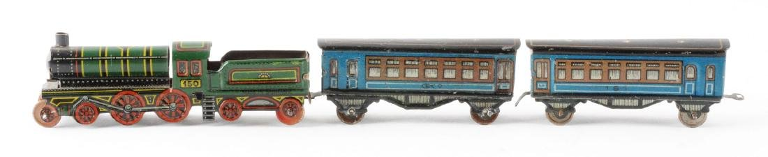 German CKO Tin Litho Penny Toy Train. - 2
