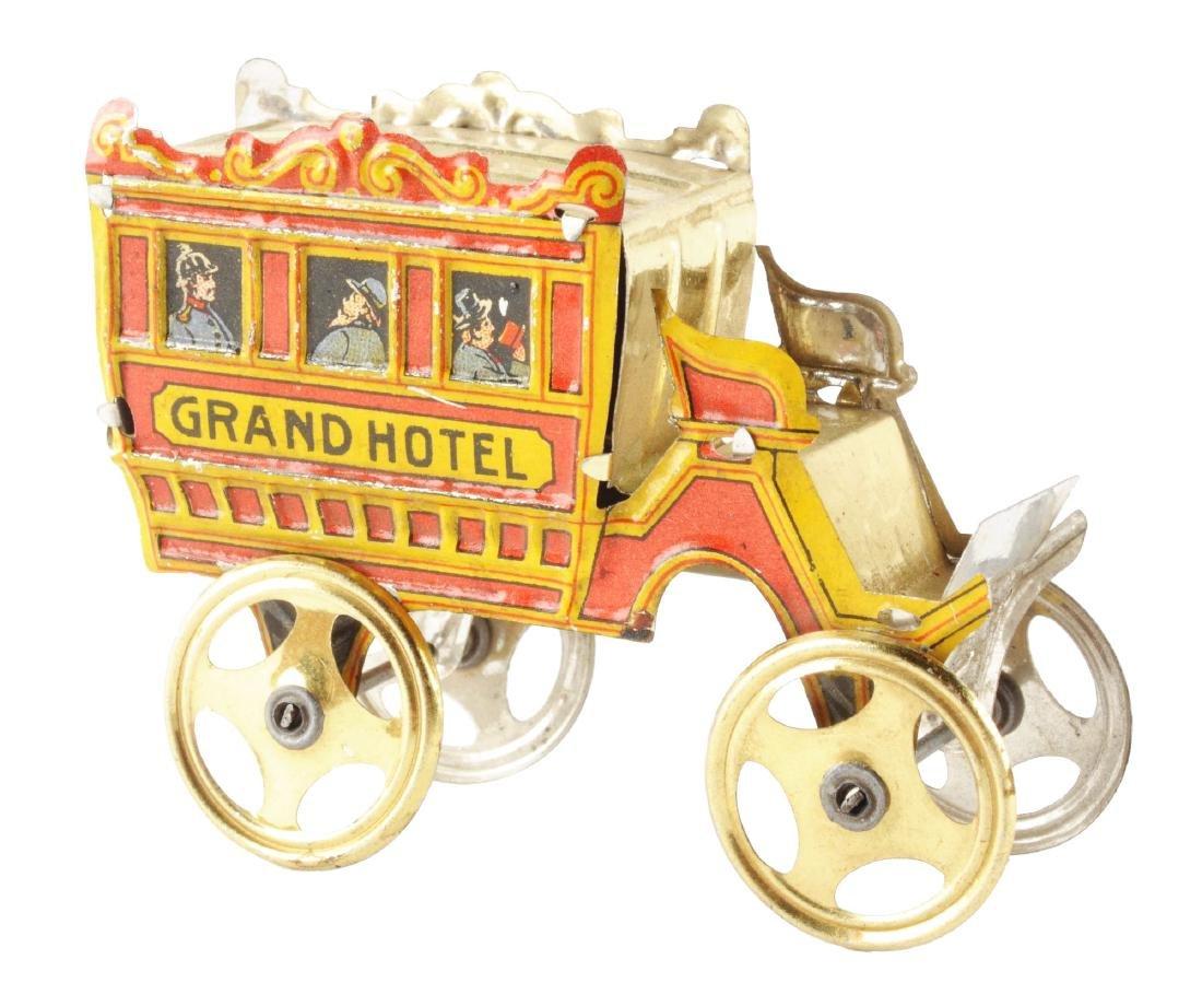 German Meier Tin Litho Grand Hotel Omnibus Toy.