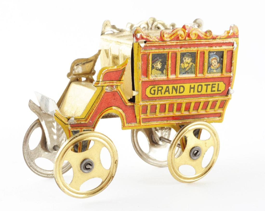 German Meier Tin Litho Grand Hotel Omnibus Toy. - 2